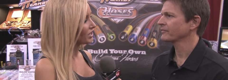 SEMA 2011 Hose Candy and PowerTV Jessica Barton Interview